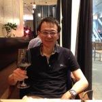 メガネ工房店主とワイン