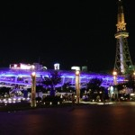 名古屋テレビ塔のライトアップ