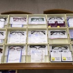 完成した眼鏡15組の写真