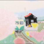 日本画家の齋正機先生の作品