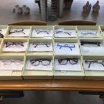 初売り注文された眼鏡の写真