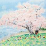 齋正機先生の桜の挿絵