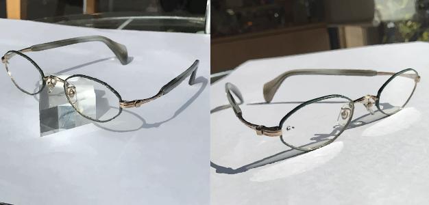 G4(ジーフォー)メガネの商品写真
